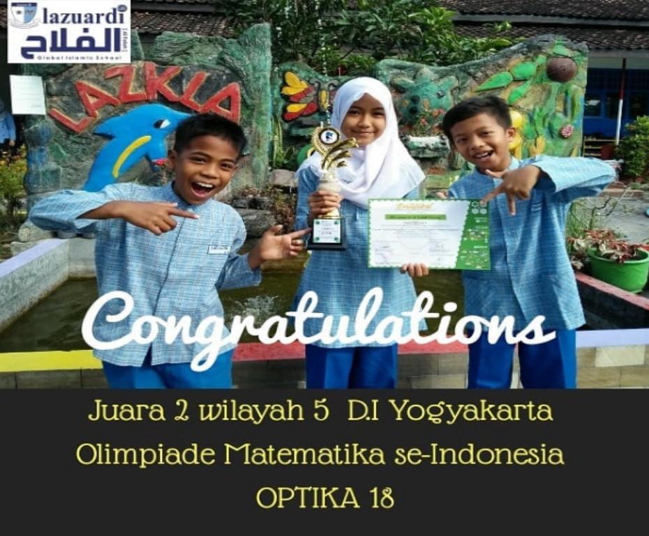 Juara 2 Olimpiade Matematika Se-Indonesia
