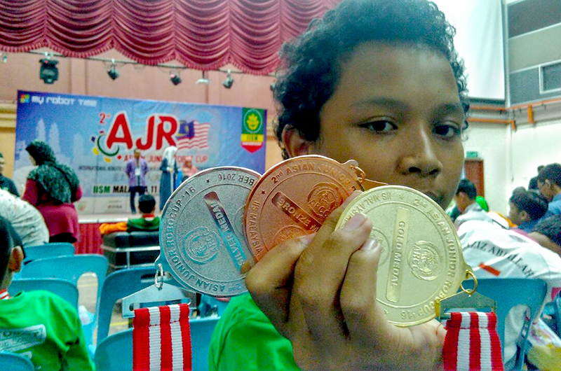 Gold Medal International Robotic Competition
