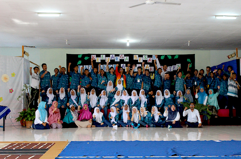 Kunjungan SMP Lazuardi Margonda ke SMP Lazuardi Klaten