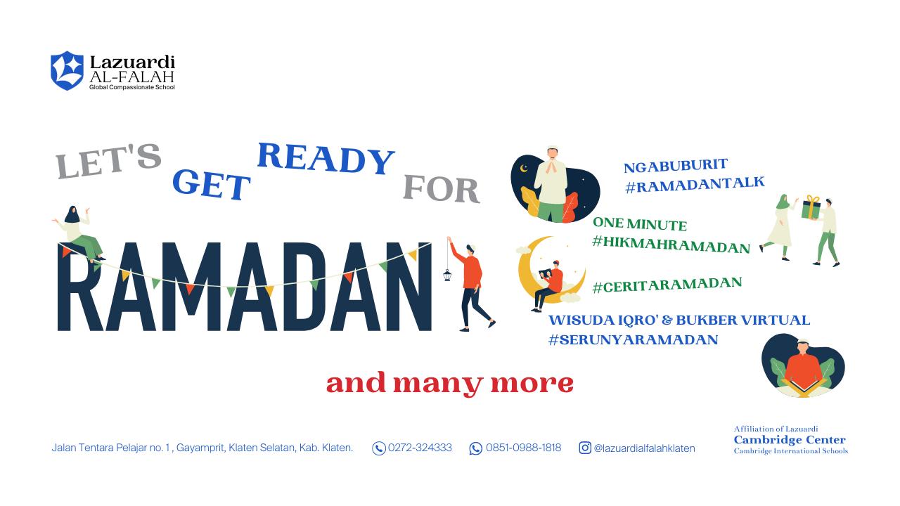 Bersiap Sambut Ramadan 1442H