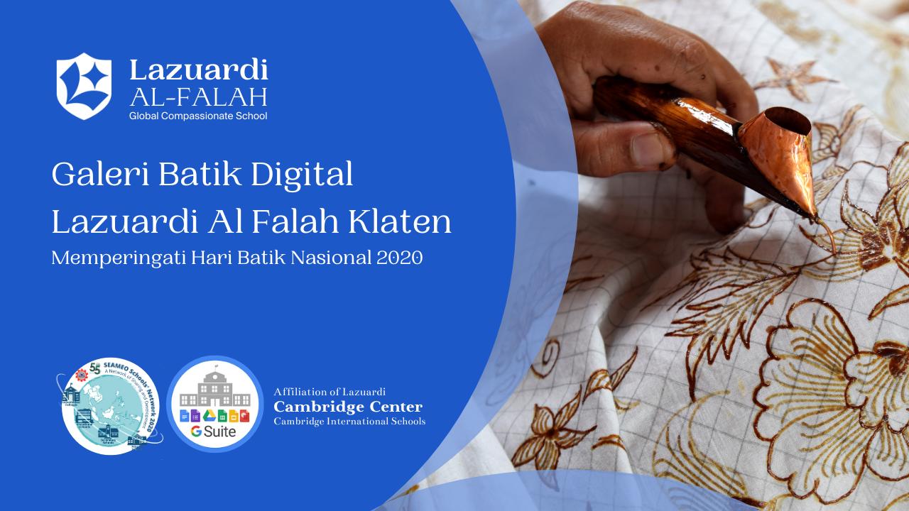 Galeri Batik Digital Lazuardi Al Falah Klaten